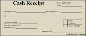 Cash Receipt Template Blank Cash Receipt Templates Paper Printable  Printable Cash Receipt