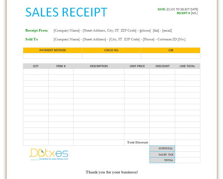 photograph regarding Printable Sales Receipt Pdf known as PDF-Document-Printable-paper Profits-Receipt-templates