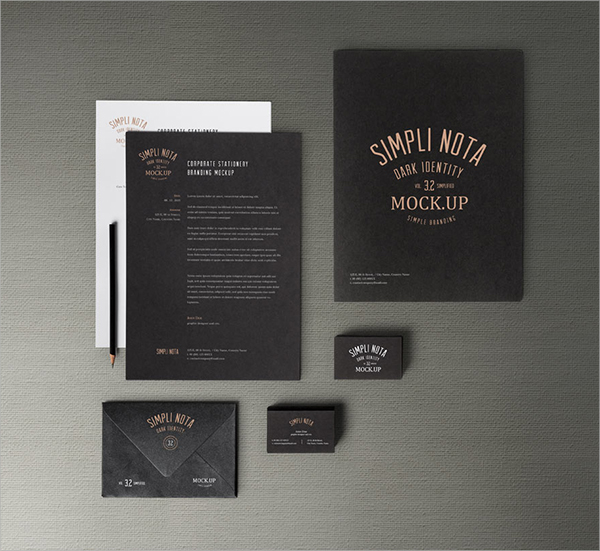 Stationary-Branding stationery paper templates