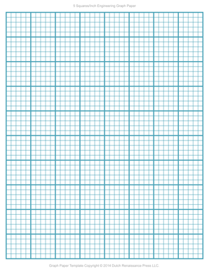 Beautiful Blank Engineering Graph Paper Templates