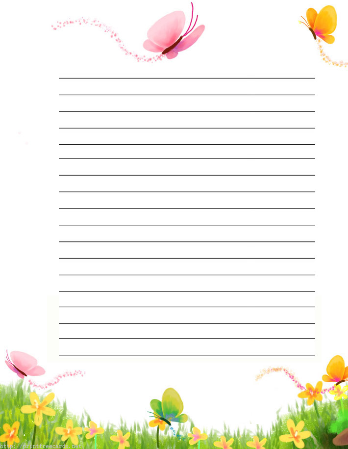 stationery paper templates – Stationery Paper with Lines