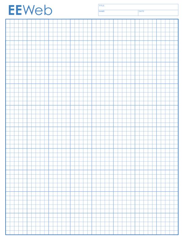Graph Paper Templates – Graph Paper Template Print