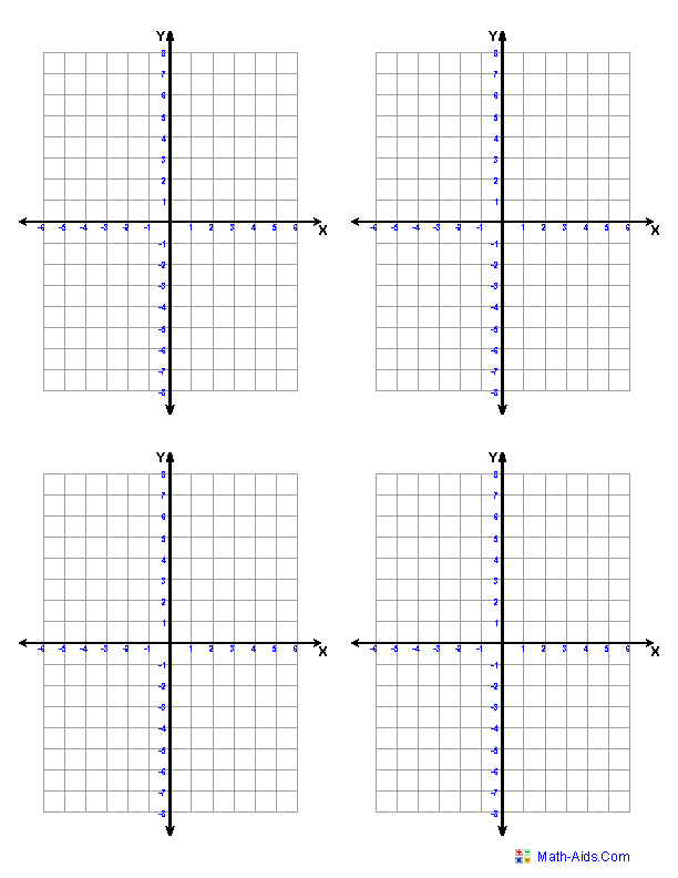 graphing-coordinate-plane-samples templates print