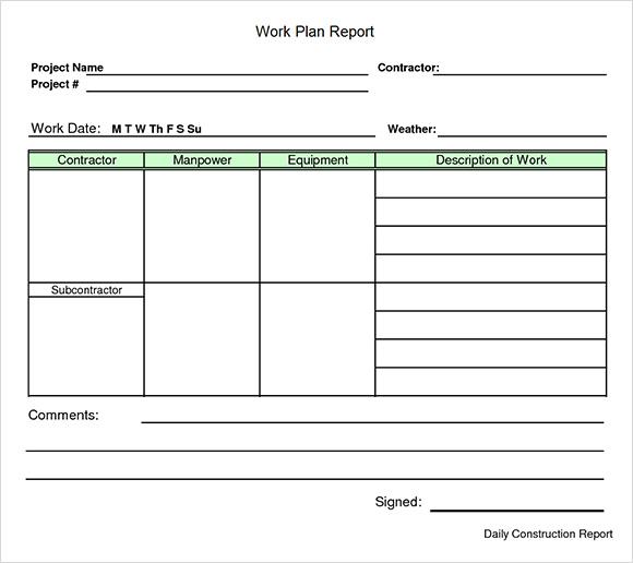 work-plan-template-excel plan paper printable templates