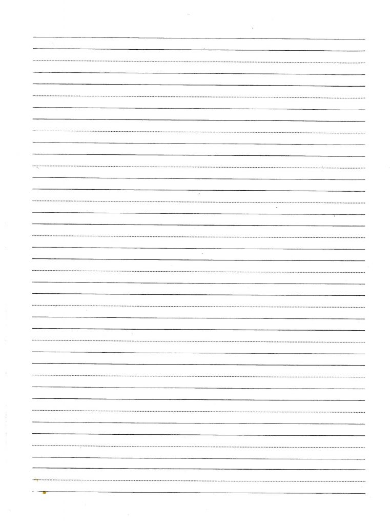 Download Lined Paper Writting PaperThe Four Lined Paper Template – Template for Lined Paper