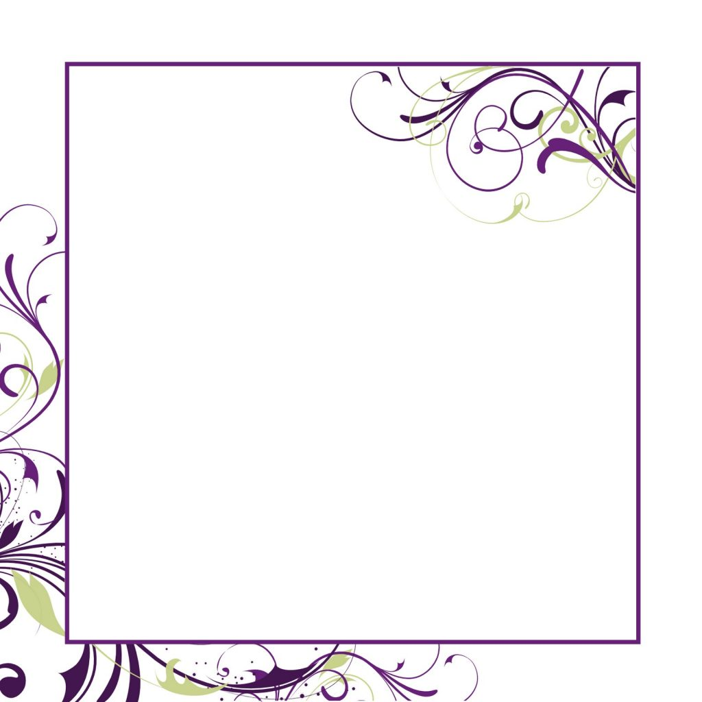 Wedding Card Paper Template Print Paper Templates