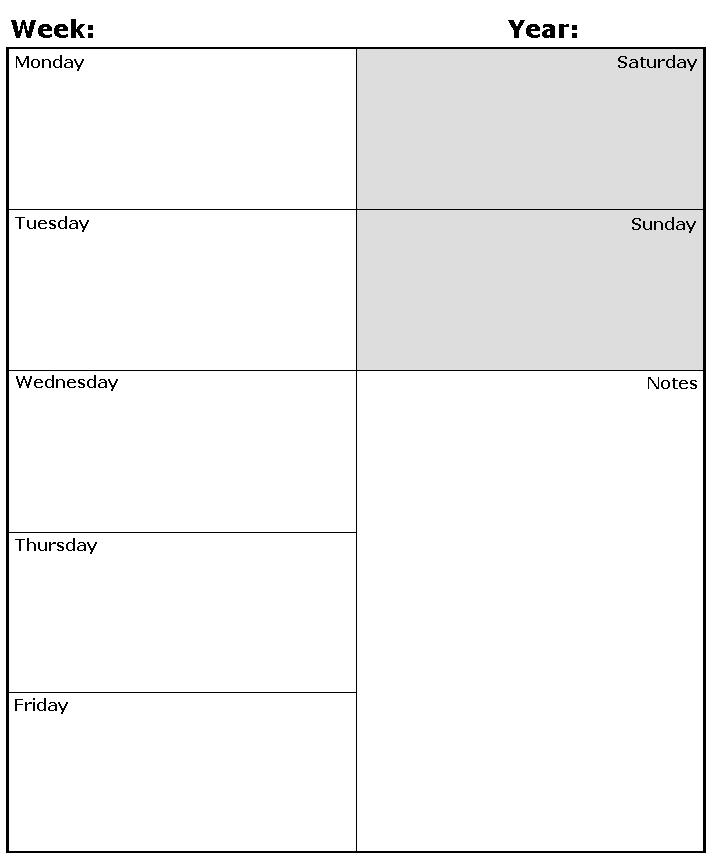 daily-planner-DIY Templates