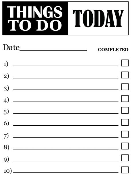 dolistsamplestemplatesonline – To Do List Samples