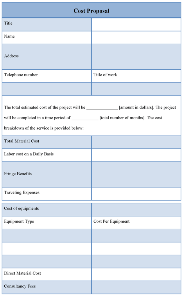 Cost-Proposal-Templates