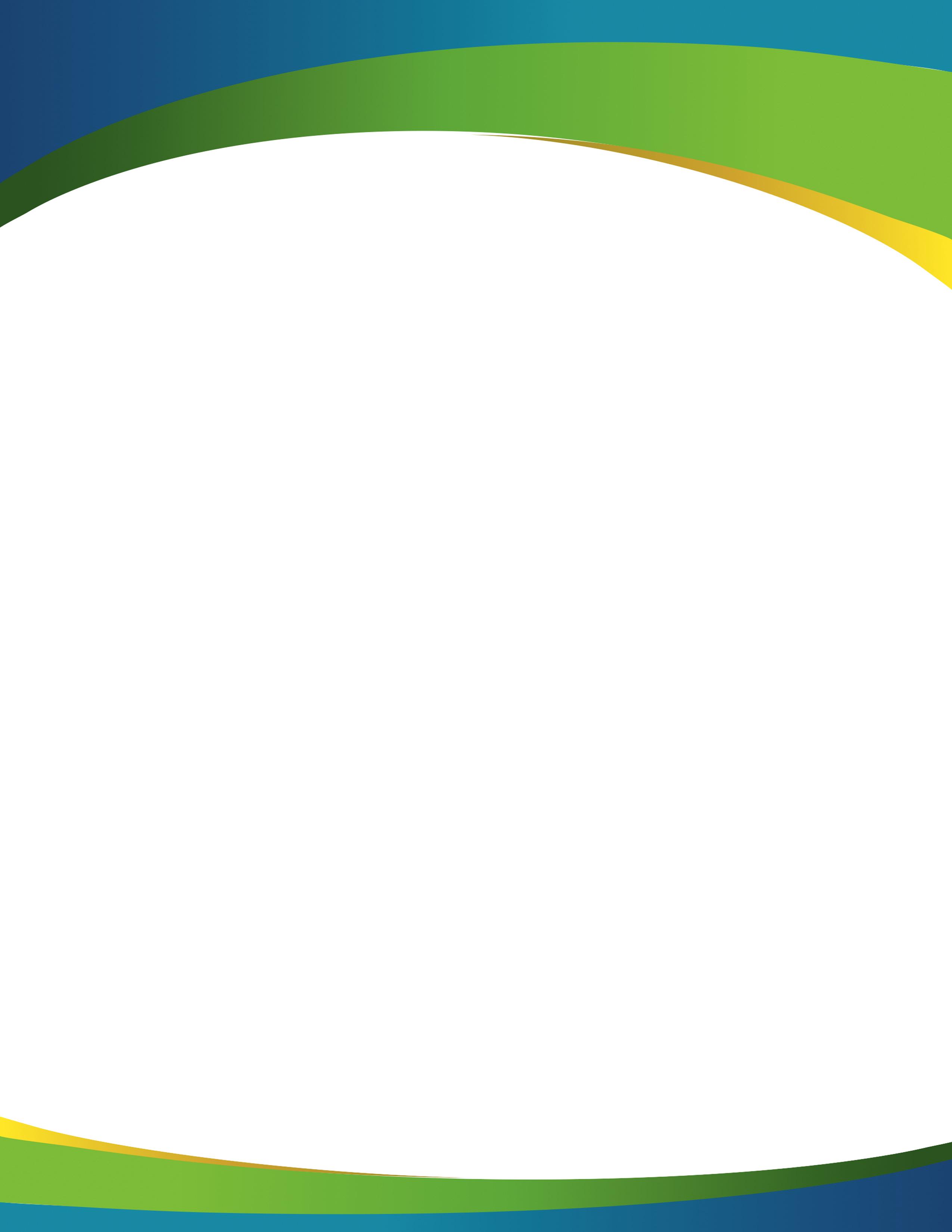 Green Business Poster Template Design