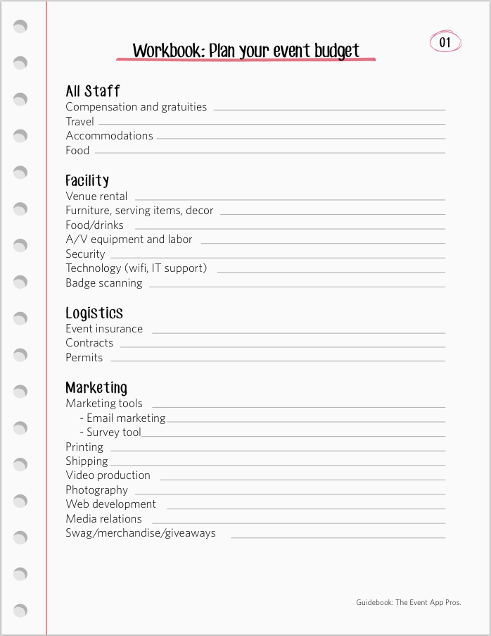 example worksheet for merchandising business plan