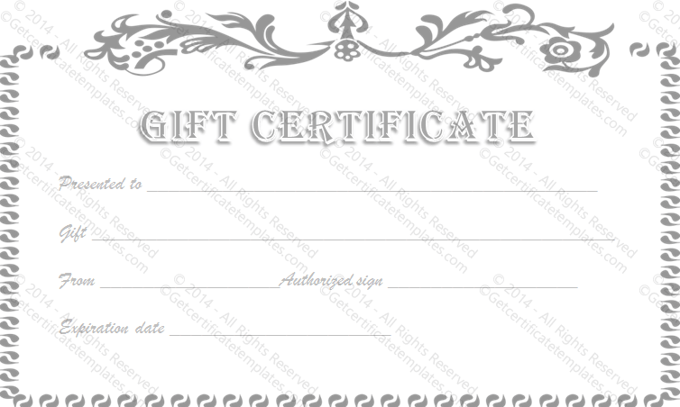 Photography gift certificate exles gift ideas gift certificate template todaysclix friedricerecipe images business gift certificate template images business cards ideas wajeb