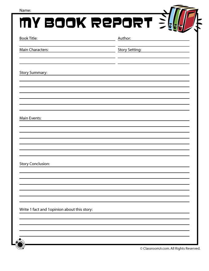 book report template pdf blank book report template pdf
