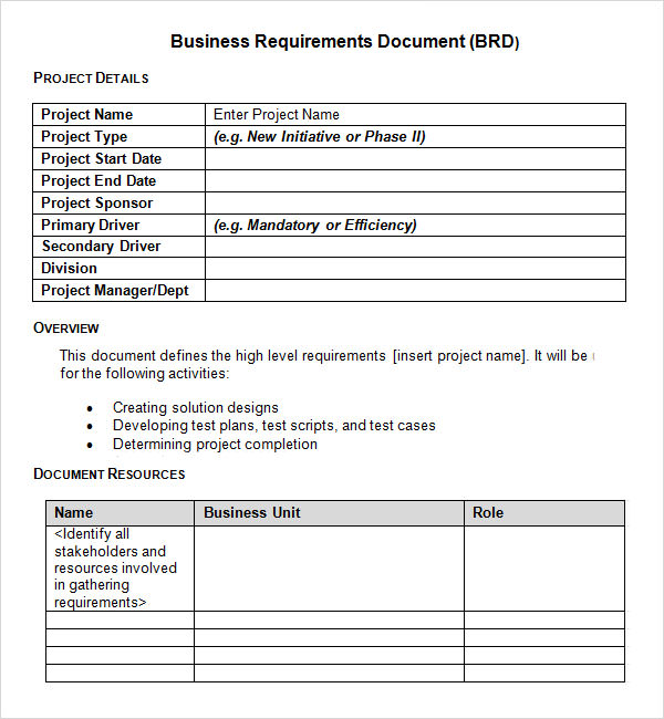 simple-business-requirements-document-template