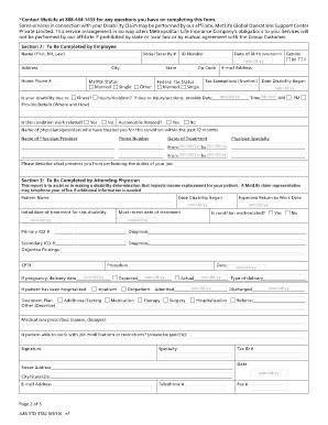 free=pdf-Disability Claim Forms
