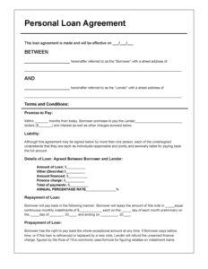 loan document templates