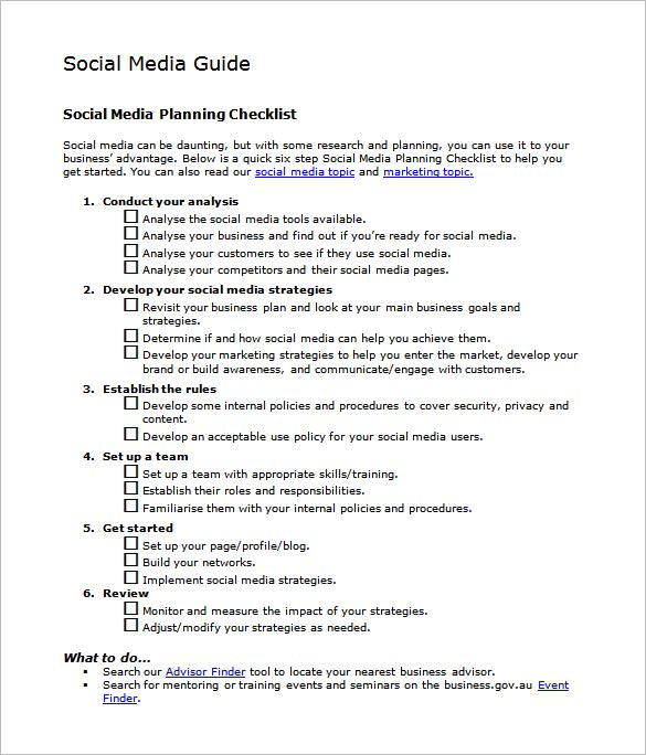 Social-Media-Marketing-Action--template-docs