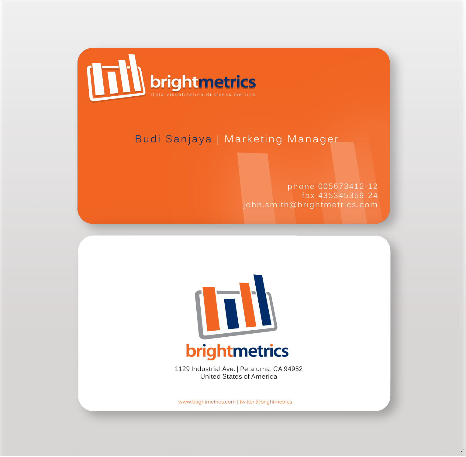 orange-business-card-pro-word-template