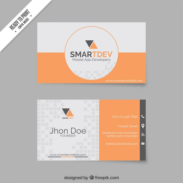 business-card-template-in-orange-and-grey-tones-modern