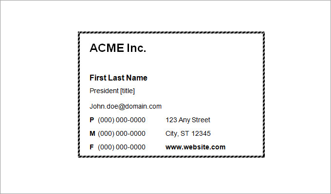 9 business card templates print paper templates blank business card sample reheart Gallery