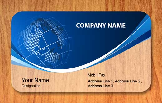 12 visiting card templates print paper templates company visitingcards templat accmission Images