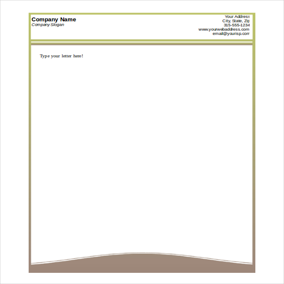 Printable design sample doc business letterhead template free download wajeb Image collections