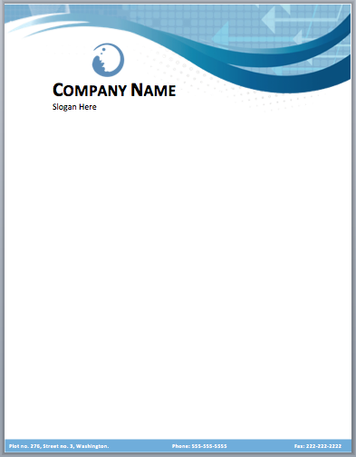 Letterhead template free downloading geccetackletarts letterhead template free downloading accmission Images