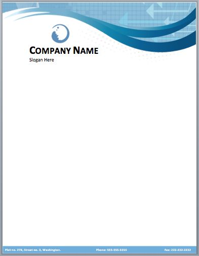 Sales Sample Doc Business Letterhead Template Free Download  Business Letterhead Samples