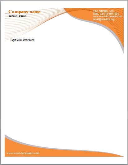 Letterhead templates sample doc letterhead sample flashek Choice Image