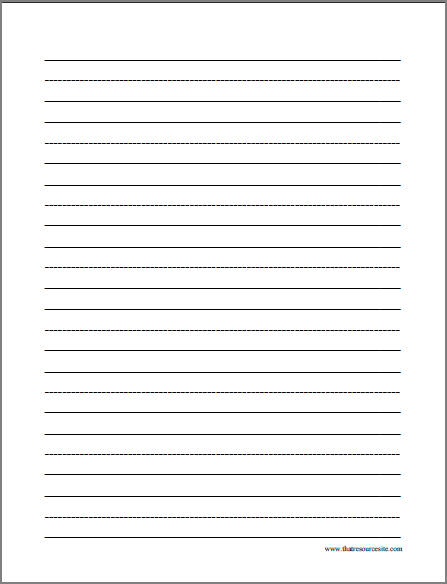 Free Printable Letter Writing Paper  Docoments Ojazlink