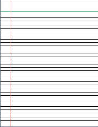 It is a graphic of Free Printable Notebook Paper intended for print
